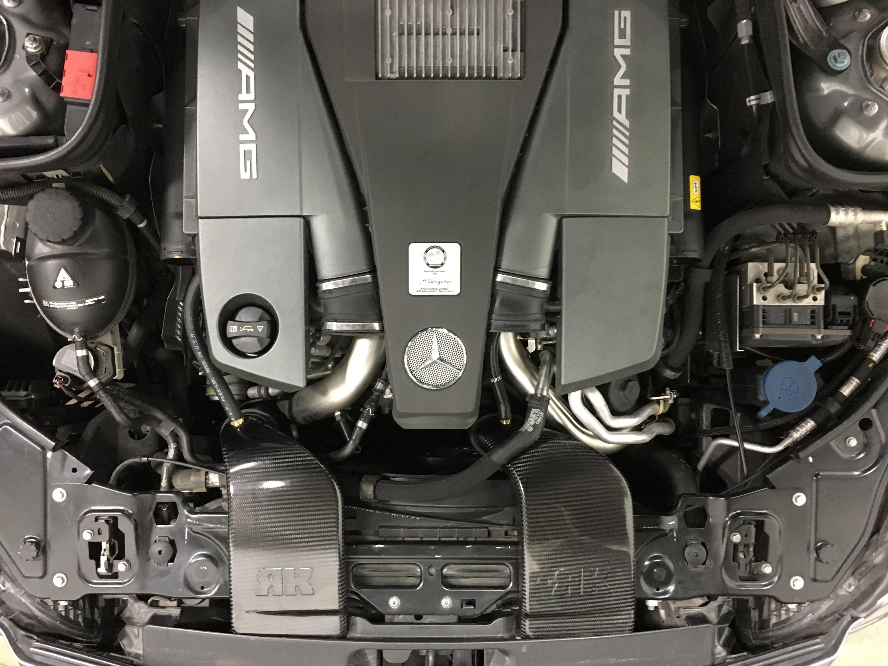 Cls63 Amg 5 5l Biturbo Intakes Rkautowerks