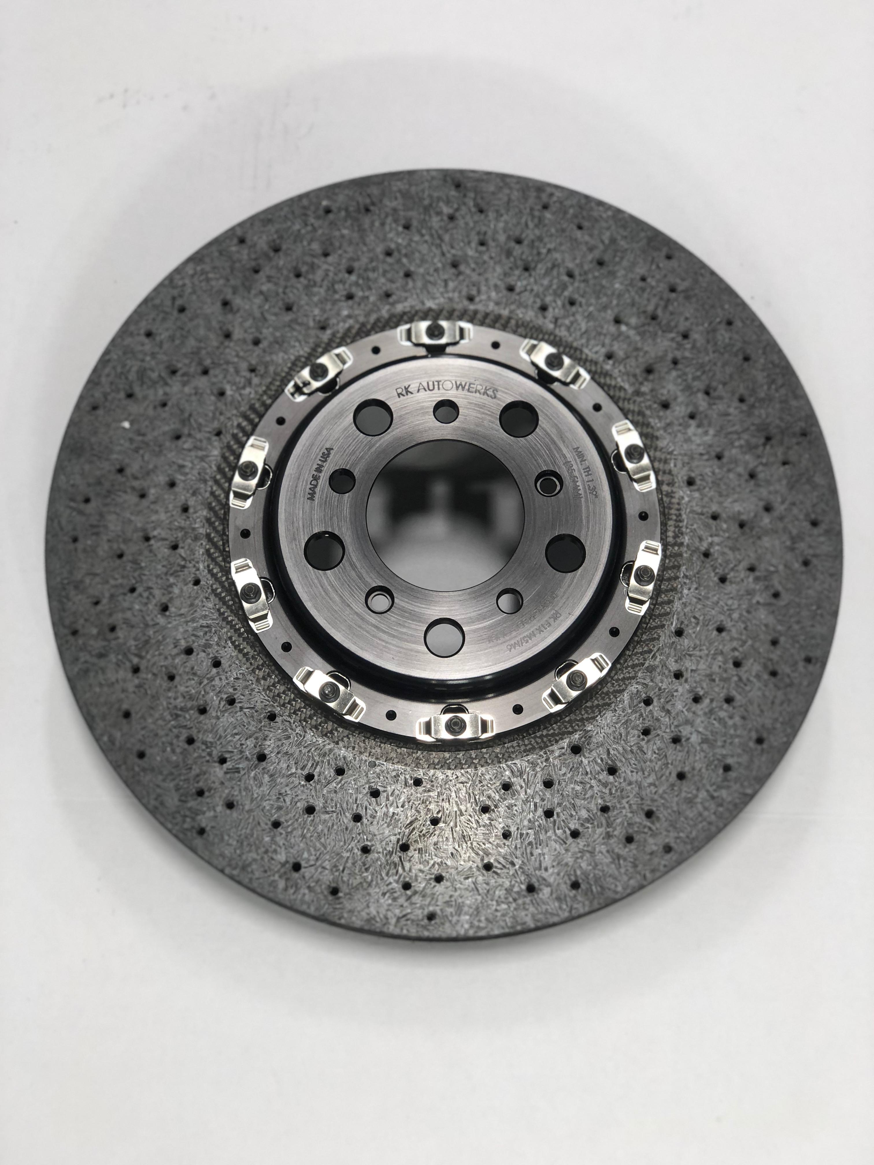 F10 M5 Carbon Ceramic Brakes Front Rkautowerks